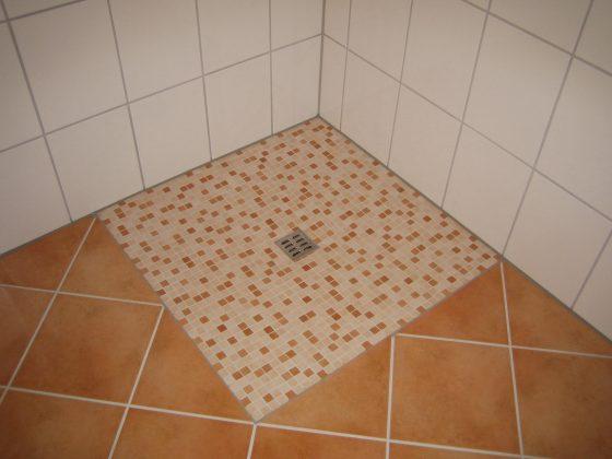 Fliesen Dusche Mosaik: Qm Glasmosaik Schwarz Effekt Fliesen Dusche ... Fliesen Mosaik Dusche